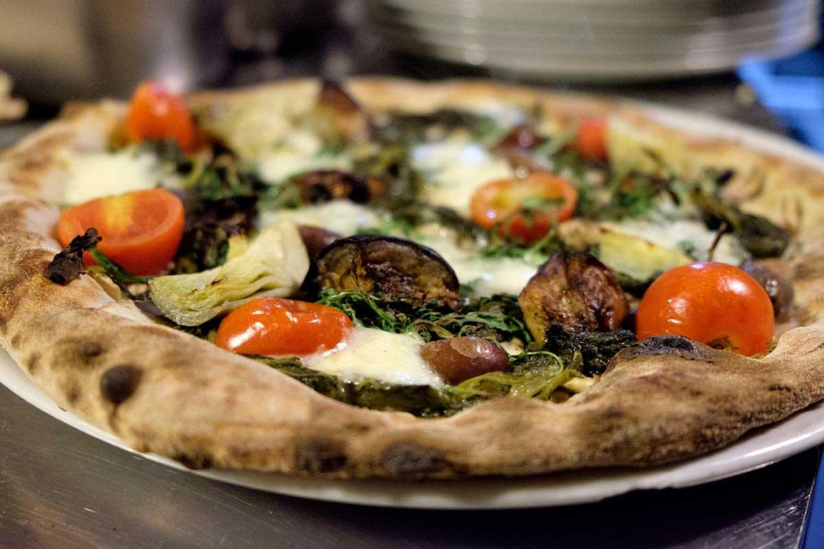 Pizza Gennaro Esposito a La Divina
