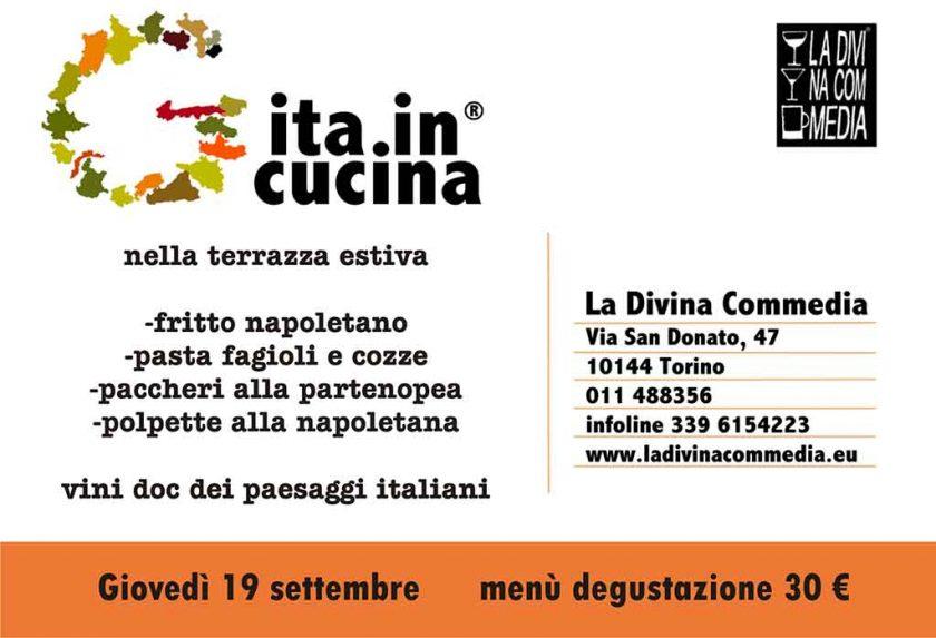 Gita In Cucina Divina Commedia TORINO