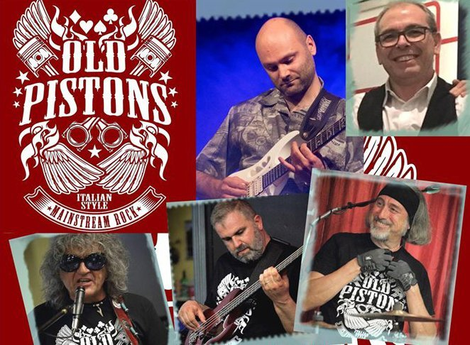 Old Pistons Rock Band